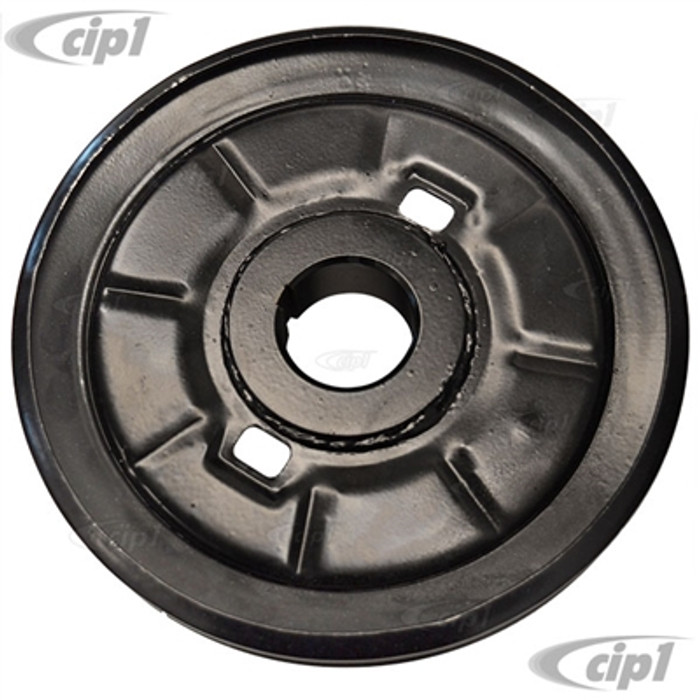 C24-113-105-251-G - (113105251G) - BEST QUALITY GENUINE VW - STOCK CRANKSHAFT PULLEY - BEETLE & GHIA 66-79 13-1600CC / BUS 63-71 15-1600CC - SOLD EACH