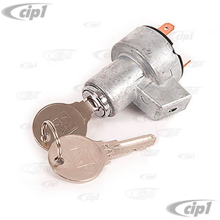 C24-211-905-811 - (211905811) BEST QUALITY REPRODUCTION - IGNITION SWITCH W/KEYS - E-PROFILE (FROM CHASSIS # 20-117903) - BUS 55-67 - SOLD EACH