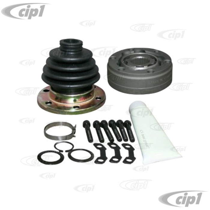 VWC-113-501-331-KIT - (113501331) GOOD QUALITY REPRODUCTION - 90MM CV JOINT AND BOOT KIT WITH HARDWARE - BEETLE 69-79 / GHIA 69-74 / TYPE-3 69-74 - RABBIT/GOLF/JETTA INNER 75-92 - SOLD KIT