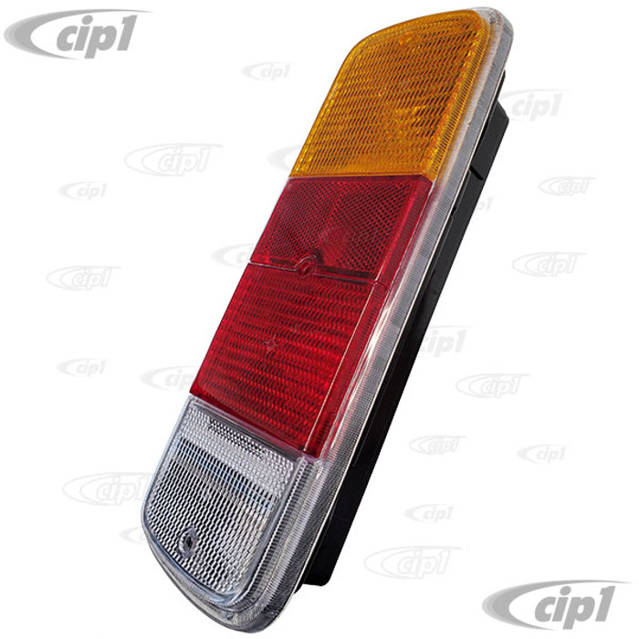VWC-211-900-145-G - (211900145G 211-945-241 211945241) - VERY GOOD QUALITY BRAZIL - COMPLETE TAIL LIGHT ASSEMBLY - FITS LEFT OR RIGHT (WITH SEAL BETWEEN HOUSING AND LENS ONLY - WITHOUT SCREWS OR BULBS) - BUS 72-79 - SOLD EACH