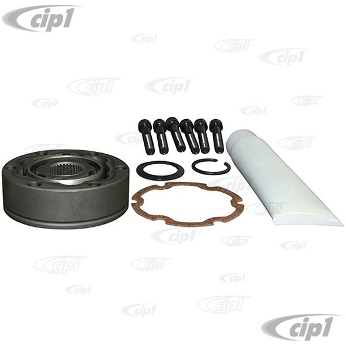 VWC-211-501-331-BHW - (211501331B) EXCELLENT QUALITY - REPLACMENT CV JOINT WITH BOLTS - BUS 68-79 - VANAGON T25 80-91 - SOLD EACH