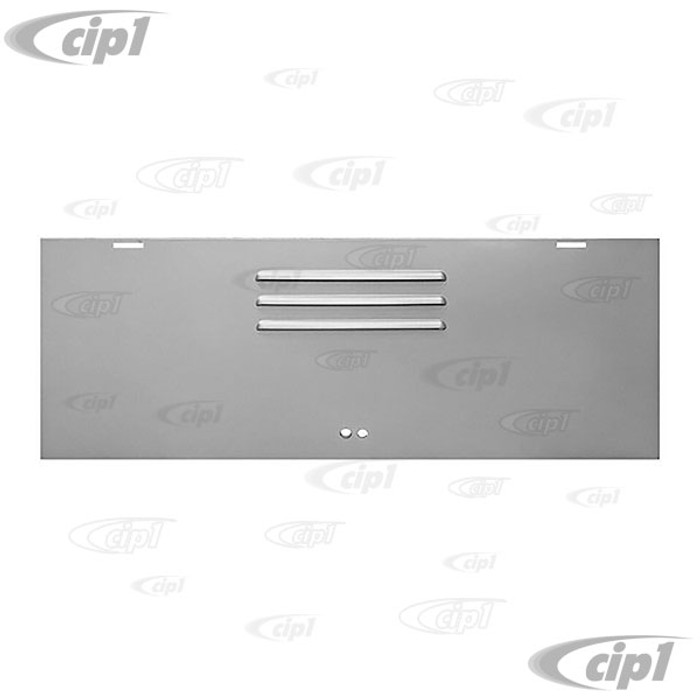 VWC-261-829-061-DSW - (261829061D) - TOP QUALITY - SILVER WELD-THROUGH PRIMER - SIDE CARGO COMPARTMENT DOOR - TREASURE CHEST - T2 PICK-UP/SINGLE CAP 52-65 - SOLD EACH
