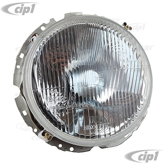 C24-BAA-941-751-AJ - (BAA941751A) - OE QUALITY - 12 VOLT HEADLIGHT ASSEMBLY WITHOUT BULB (SEE C13-16-9168) - BEETLE 67-79 / BUS 68-79 / TYPE-3 64-74 / THING 73-74 (WILL NOT FIT KARMANN GHIA) - SOLD EACH