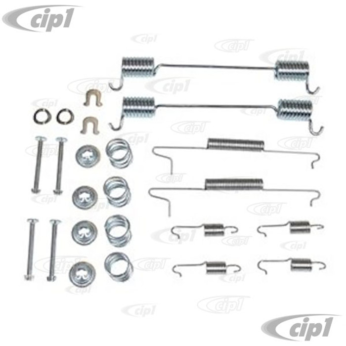 VWC-021-698-526-AD - (021698526A 211698003A 17160) - BRAKE HARDWARE AND SPRING KIT - REAR - BUS 72-79 - SOLD EACH