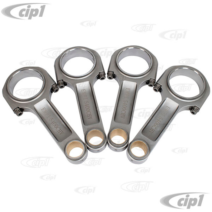 C13-8348 - EMPI - PRO SERIES I-BEAM CONNECTING RODS - 5.40 INCH CHEVY JOURNAL - WITH ARP2000 5/16 INCH 220,000 PSI ROD BOLTS - SOLD SET OF 4