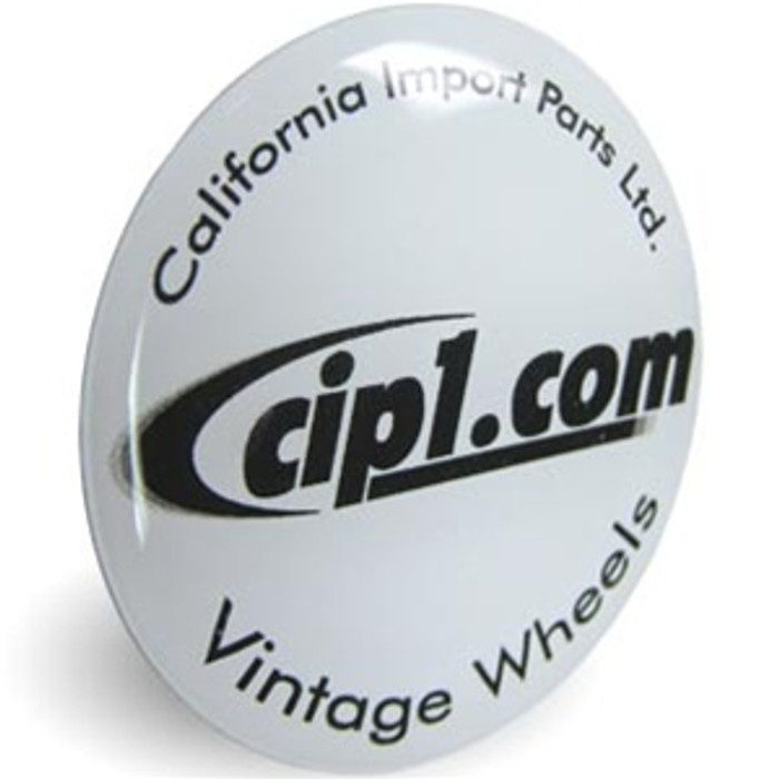 ACC-C10-CIPD - CIP1.COM CENTER CAP DECAL 43MM or 1.73 IN DIAMETER - SET OF 4