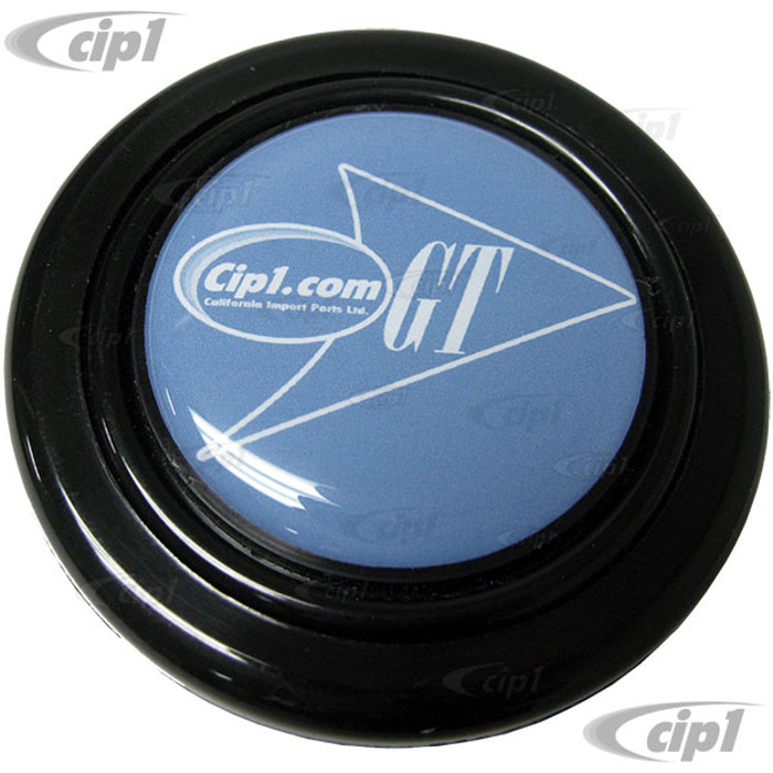 ACC-C15-3509 - BLACK GT HORN BUTTON - FITS OUR FLAT4 GT STEERING WHEEL HUB KIT (DOES NOT FIT ANY STOCK STEERING WHEEL)