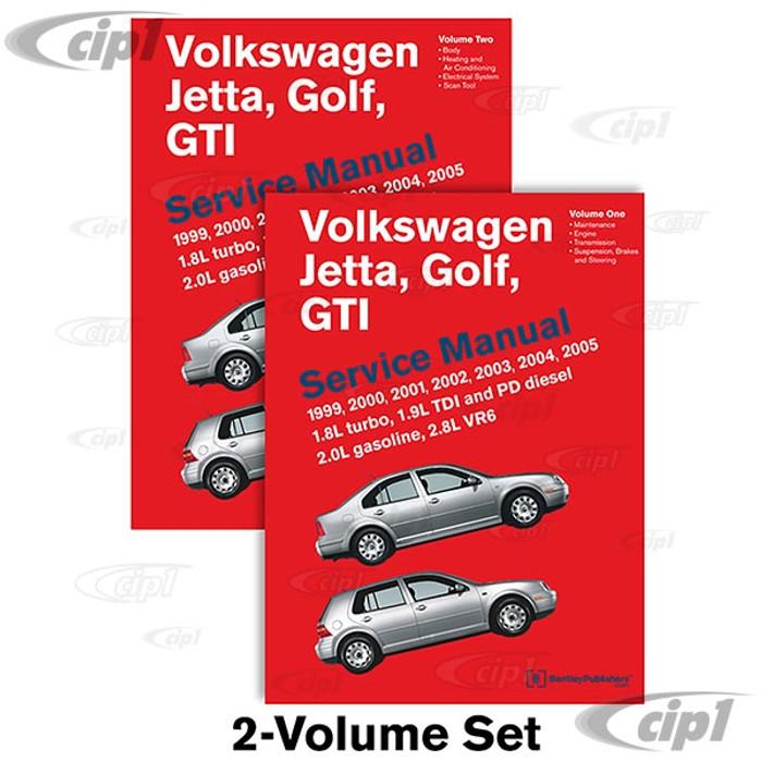 ACC-C30-9671 - (VG05) 99-2005 GOLF/JETTA/GTI (A4) BENTLEY SERVICE MANUAL - SOLD EACH - SOLD EACH