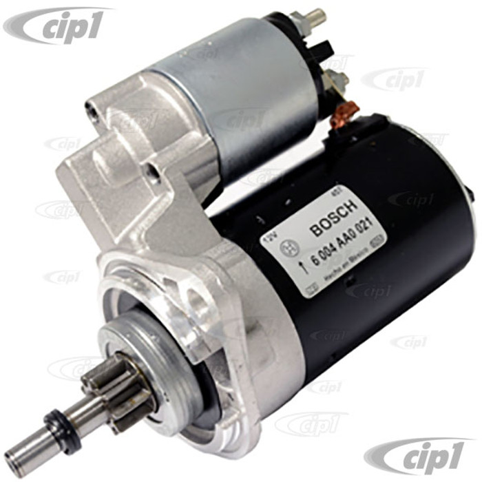 BOS-SR15N - (311-911-023-D 311911023D) - 100% NEW MEXICAN BOSCH (SOLD AS IS - NO WARRANTY) - 12V STARTER FOR MANUAL TRANS. - BEETLE 67-79 / GHIA 67-74 / BUS 67-75 / TYPE-3 67-73 - SOLD EACH