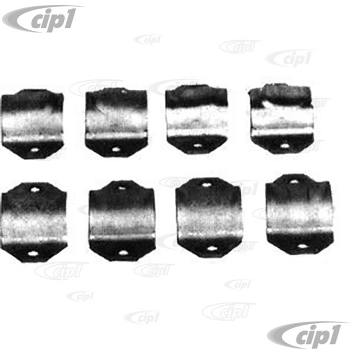 ACC-C10-2165 - UNIVERSAL FRONT END CLAMPS INCLUDES HARDWARE  SET OF 8