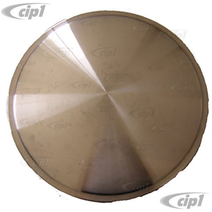 C11-RDC01-15 - STAINLESS STEEL BRUSHED WHEEL DISC COVERS - 15 INCH WHEEL - SNAP-ON STYLE - SET OF 4 - (A10)