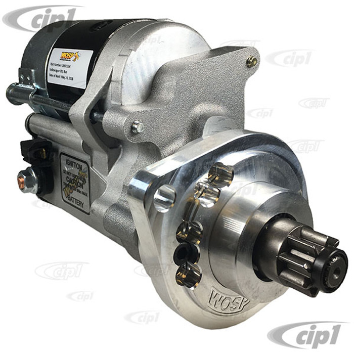 ACC-C10-5768-WOS - WOSP PERFORMANCE LMS1104 - HIGH TORQUE GEAR REDUCTION 12V STARTER - BUS 76-79 / VANAGON 80-83 - (091 STYLE TRANSMISSIONS) - EACH