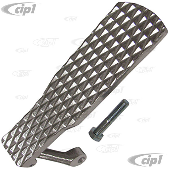 C12-5569 - BUGPACK - ALUMINUM THROTTLE PEDAL - (DESIGNED TO BE USED WITH ROLLER PEDAL SOLD SEP.)