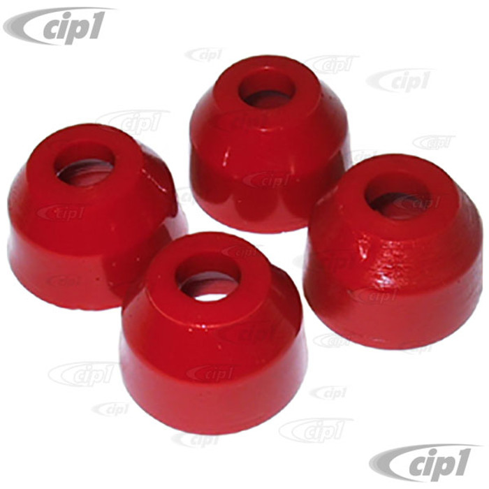 C12-5575-21 - URETHANE REPLACEMENT TIE ROD BOOTS - SET OF 4 -  FITS ALL BEETLE / GHIA / TYPE-3 46-79