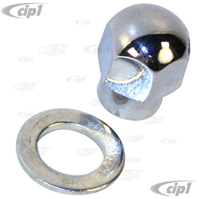 C13-16-9708 - CHROME NUT FOR C26-903-112 PULLEY