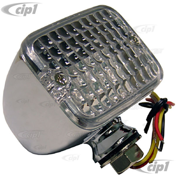C13-16-9836 - MINI LED LIGHT - CLEAR LEN - SHOWS RED STOP/TAIL - SHOWS AMBER FOR TURN (2-1/2 X 1-3/4 X 2 IN.) - SOLD EACH