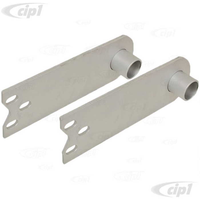 C13-17-2664 - EMPI - HEAVY DUTY SPRING PLATES IRS WITH 1-1/4 IN. COLLAR FOR 21-3/4 IN. LONG TORSION BARS (PAINTED) - BEETLE/GHIA I.R.S. - SOLD PAIR