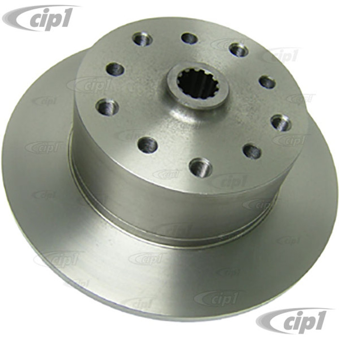 ACC-C10-6744 - CHEVY-5X130MM COMBO BOLT PATTERN REAR DISC BRAKE ROTOR - AXLE BEETLE/GHIA 60-67 (BEETLE/GHIA 68-79 WITH SPACER) - MOST COMMON BEETLE/GHIA DISC BRAKE CONVERSIONS - SOLD EACH