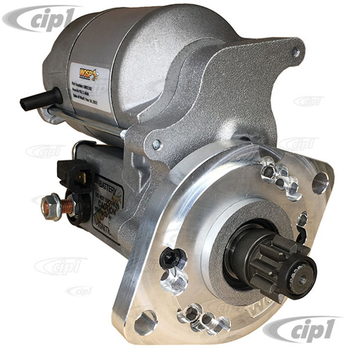 ACC-C10-5767-HCWOS - WOSP PERFORMANCE LMS1102 - SUPER HIGH TORQUE GEAR REDUCTION (1.4KW) 12V STARTER - BEETLE 67-79/GHIA 67-74/BUS 67-75/TYPE-3 67-74 - SOLD EACH