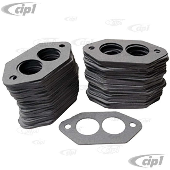 C13-3251-100 - BAG OF 100 - RACING INTAKE GASKETS FOR TYPE 1 STYLE DUAL PORT ENGINES - SOLD BAG OF 100