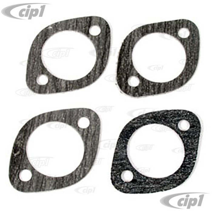 C13-3395 - EXHAUST PORT GASKETS 1-5/8 4 PC SET FOR BEETLE STYLE ENGINES