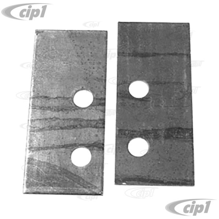 C13-3840 - FRONT TUBE BUMPER MOUNTING HARDWARE - 2 PIECES