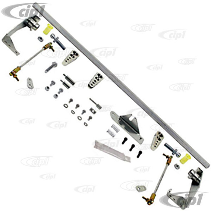 C13-43-5220 - EMPI HEX BAR LINKAGE KIT - FOR DUAL 34 ICT WEBER CARBS ON BEETLE STYLE 1600CC ENGINE