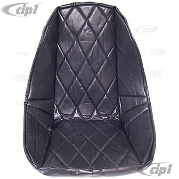 ACC-C10-2201 - LOW BACK SEAT COVER - FOR PLASTIC LOW BACK SEAT #ACC-C10-2200 - BLACK DIAMOND PATTERN - SOLD EACH