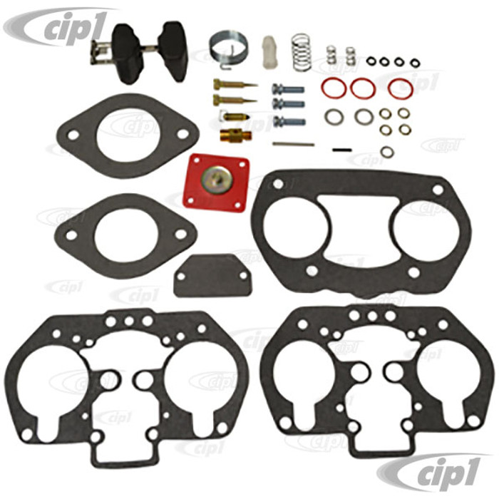 C13-43-5813 - WEBER / EMPI - 40MM & 44MM IDF / HPMX - DELUXE CARB REBUILD KIT WITH LATE STYLE (5.5MM) TALL DIAPHRAGM SHAFT - SOLD EACH