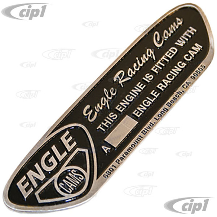 ACC-C10-526-BADGE - ENGLE CAMSHAFT I.D. BADGE