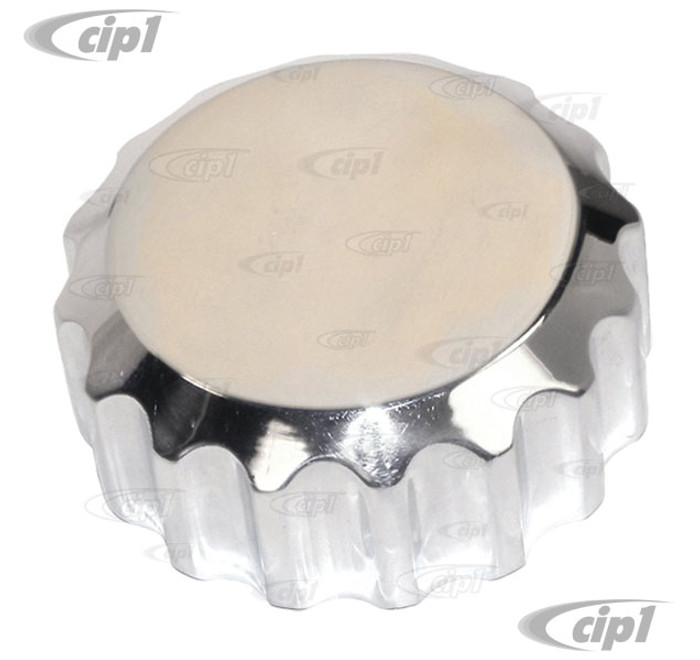C13-8899 - EMPI - REPLACEMENT ALUMINUM OIL FILLER CAP - FITS ALL POPULAR AFTERMARKET THREADED FILLER TUBES - SOLD EACH