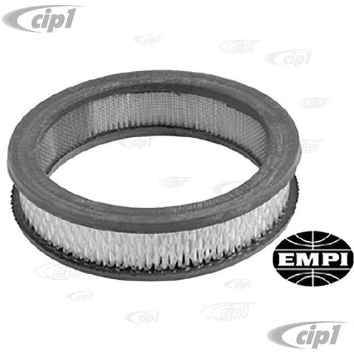 C13-9081 - EMPI -REPLACEMENT PAPER ELEMENT ONLY FOR C13-9076 & 77 - 6-3/8 IN. DIA. X 1-1/2 IN. HIGH - EACH