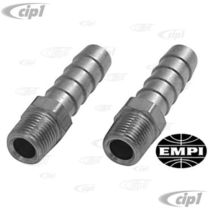 C13-9097 - 5/16 INCH HOSE BARB END WITH 1/8 IN. NPT - FITTINGS FIT FACET PUMP / FUEL REGULATOR SOLD PAIR