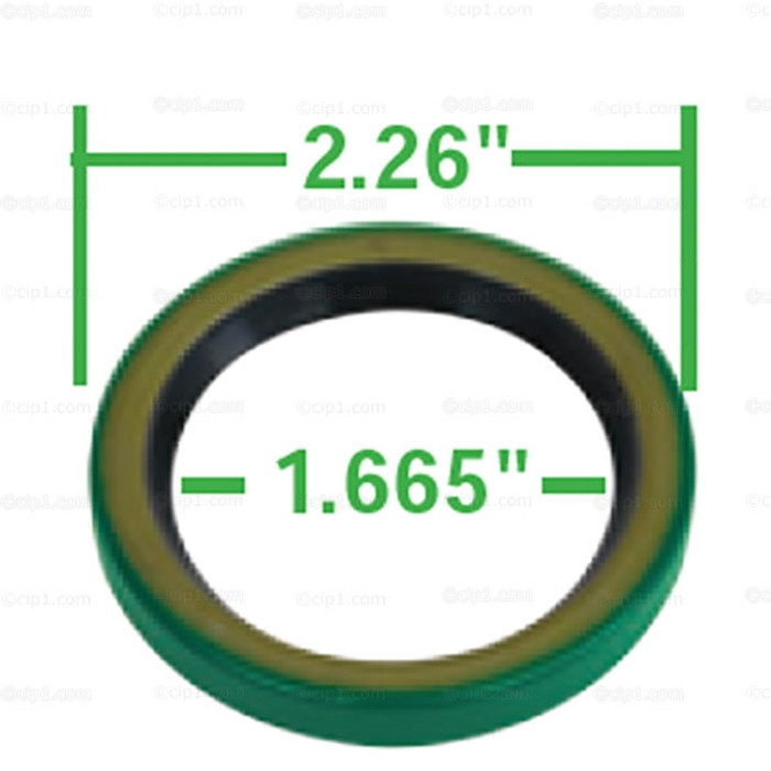C13-9112 - EMPI - H.D. PULLEY SAND SEAL FOR CASES THAT HAVE BEEN MANCHINED FOR SEAL - 57.36MM O.D. - GREEN - SOLD EACH
