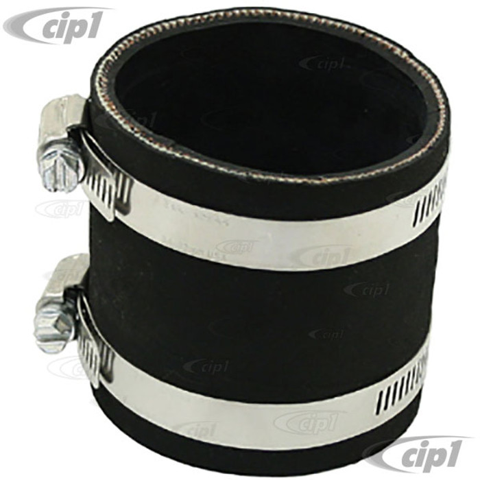 C13-9154 - EMPI – OFF-ROAD AIR CLEANER ADAPTER MOUNTING TUBE WITH CLAMPS – FOR 2 BARREL 2-5/8 INCH NECK CARB. – SOLD EACH