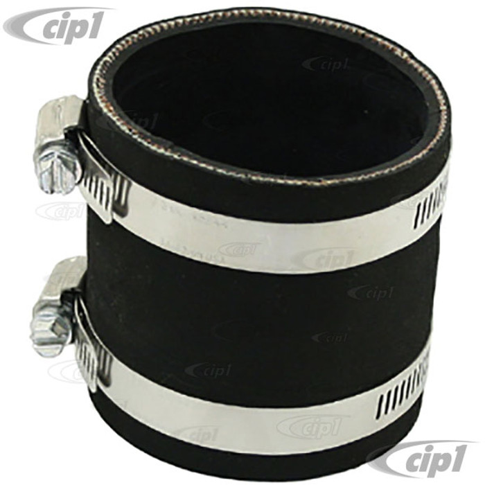 C13-9156 - EMPI - OFF-ROAD AIR CLEANER ADAPTER MOUNTING TUBE WITH CLAMPS – FOR STOCK 2.00 INCH NECK CARB. – SOLD EACH