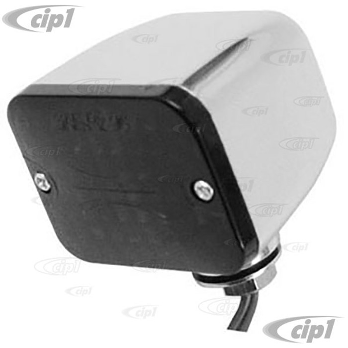C13-9330 - MICRO MINI LIGHT WITH RED LENS 1 3/4 X 1 X 1 1/2