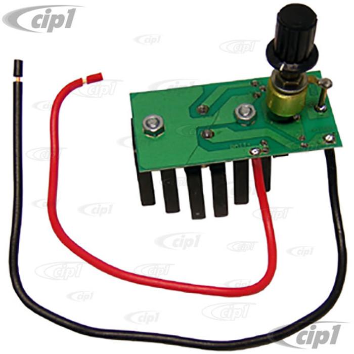 C13-9344 - WIPER MOTOR CONVERSION KIT - 6-VOLT UP TO 12-VOLT - ALL 6 VOLT MODELS