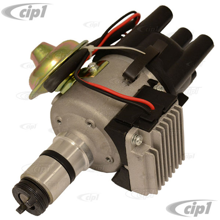 C13-9437-B - EMPI - ELECTRONIC ALL-IN-ONE VACUUM ADVANCE (SVDA) DISTRIBUTOR - COMPLETE - THIS FITS 12-VOLT 12-1600CC AIRCOOLED ENGINES (COLOR OF CAP MY VARY) - BEETLE/GHIA 46-79 - SOLD EACH