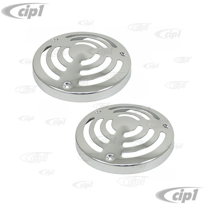 C13-9498 - EMPI - OFFROAD TAIL LIGHT COVERS FOR 4 INCH DIA. LIGHTS  - SOLD PAIR