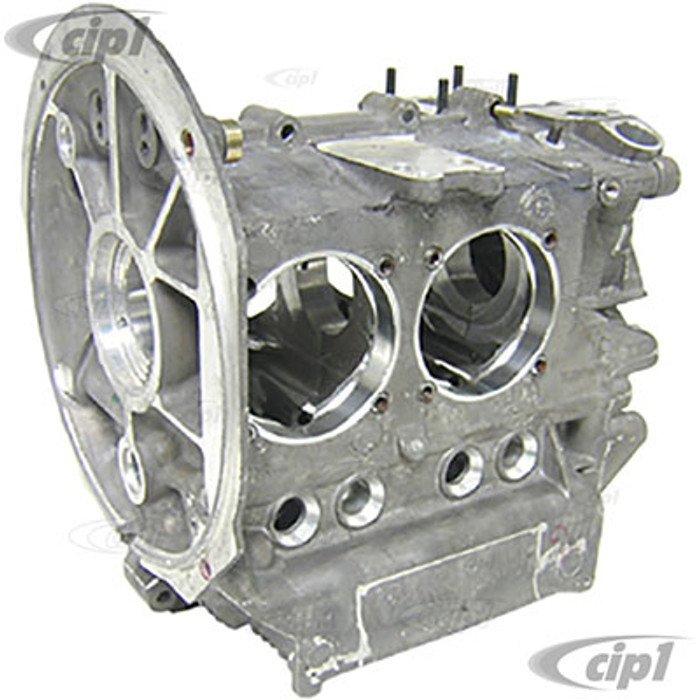C13-98-0438-B - (043-101-025 043101025) EMPI - GENUINE AS41 VW MAGNESIUM ALLOY ENGINE CASE - ALL 1600CC STYLE DUAL PORT ENGINES - BORED FOR 90.5/92MM - CLEARANCED FOR 82MM STROKER CRANK - SOLD EACH