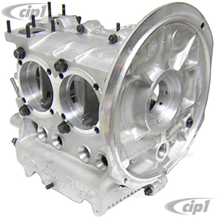 C13-98-0463-B - EMPI HEAVY DUTY BUBBLE TOP ALUMINUM ENGINE CASE - BORED FOR 90.5 & 92MM PISTONS - MACHINED FOR STROKER CRANK / FOR 10MM HEAD STUDS - (A60)