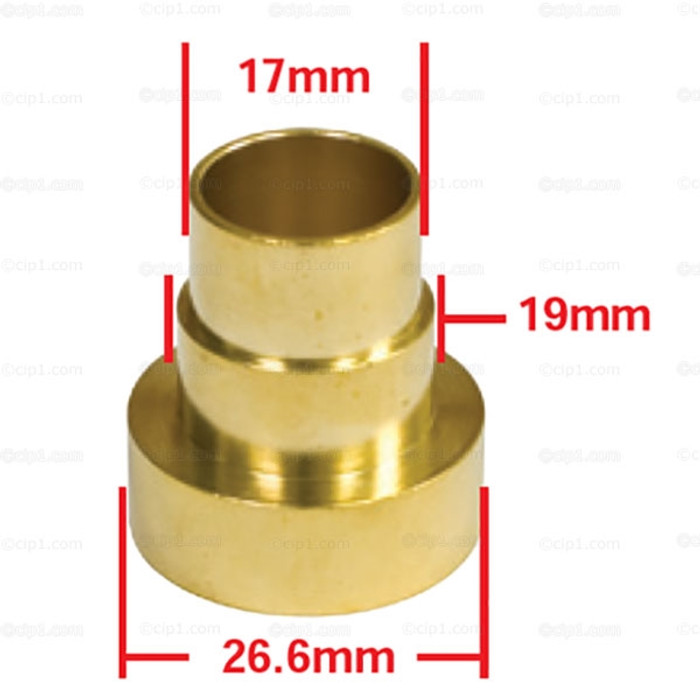 C13-98-3018-B - EMPI - NOSE CONE BUSHING AND SEAL HOLDER (USE VWC-001-301-227 SEAL NOT INCLUDED) - BEETLE/GHIA/TYPE-3 67-68 / BUS 67-68 - SOLD EACH