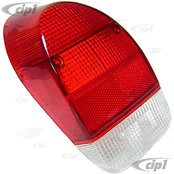 C16-113-241A-L - (113-945-241A 113945241A) - TAIL LIGHT LENS RED LEFT - BEETLE 71-72 - SOLD EACH