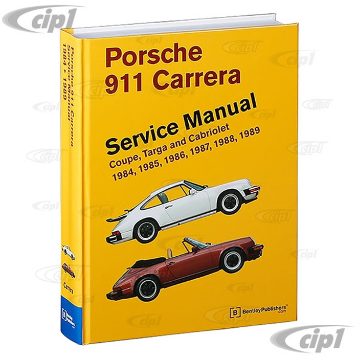 ACC-C10-9671 - (P989) - PORSCHE 911 84-89 - BENTLEY SERVICE MANUAL - SOLD EACH
