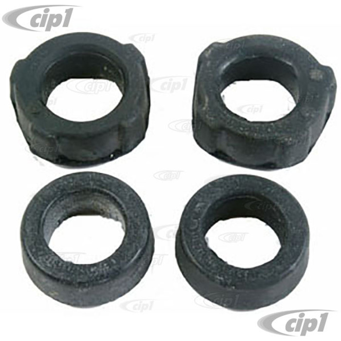 C16-133-246-LR - (111-511-245E 111511245E) - SPRING PLATE (TORSION BAR) BUSHING INNER & OUTER - BEETLE 69-79 GHIA 69-74 TYPE-3 69-74 THING 73-74 - SOLD 4 PIECE SET