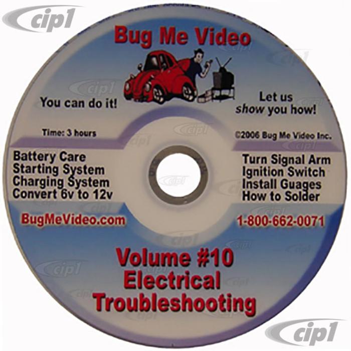 ACC-C10-9609-DVD - BUG-ME DVD VERSION - VOL-10 - ELECTRICAL TROUBLE SHOOTING