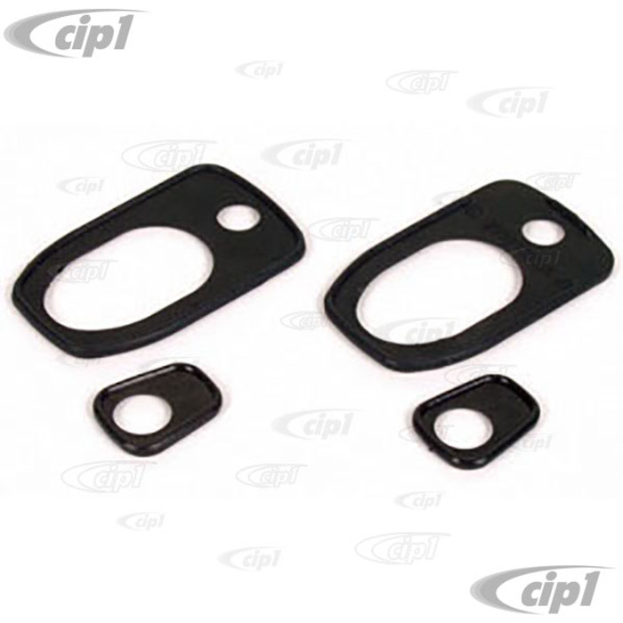 C16-211-211C - (211-837-211A 211837211A) EXCELLENT QUALITY FROMGERMANY - DOOR HANDLE SEALS - BUS 69-79 / THING 73-74 - SOLD 4 PIECE SET