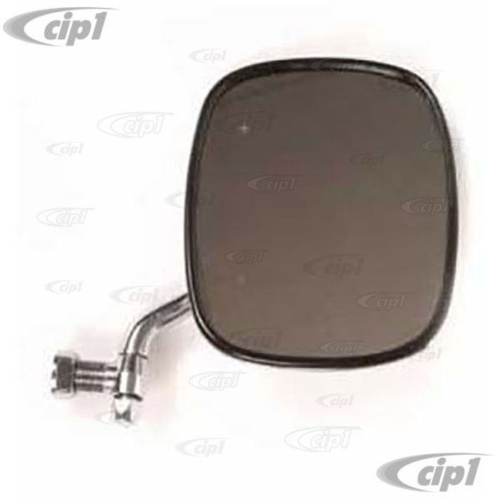 C16-211-514F-R - (211-857-514F 211857514F) - CHROME OUTSIDE MIRROR ( ECONO QUALITY - NO WARRANTY SEE NOTES ) RIGHT - BUS 68-79 - SOLD EACH