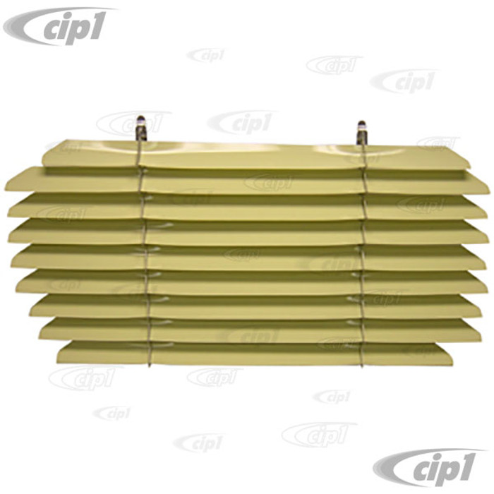 C21-0348-02 - VINTAGE STYLE ACCESSORY REAR WINDOW INTERIOR BLINDS/LOUVER SET - FITS INSIDE CAR (ASSEMBLY REQUIRED) - BEETLE SEDAN 65-71 - SOLD EACH